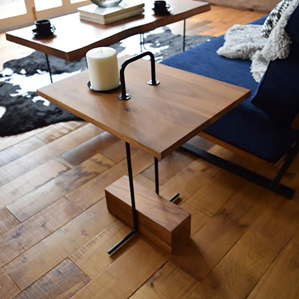 サイドテーブル 幅35cm 木製 天然木 チーク材 長方形 角型 カフェテーブル テーブル 机 つくえ ( 送料無料 ソファテーブル ベッドサイドテーブル ミニテーブル ナイトテーブル リビング おしゃれ 簡易テーブル 木製テーブル )【3980円以上送料無料】