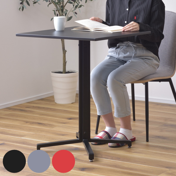 カフェやオフィスにもお手入れのしやすいスチールテーブル カフェテーブル 幅60cm スチール 日本正規代理店品 スクエア 大好評です 正方形 テーブル コンパクト 机 送料無料 ダイニング 3980円以上送料無料 2人掛け 1本脚 リビングテーブル 二人掛け 作業机 コーヒーテーブル ワークデスク 食卓テーブル ダイニングテーブル パソコン