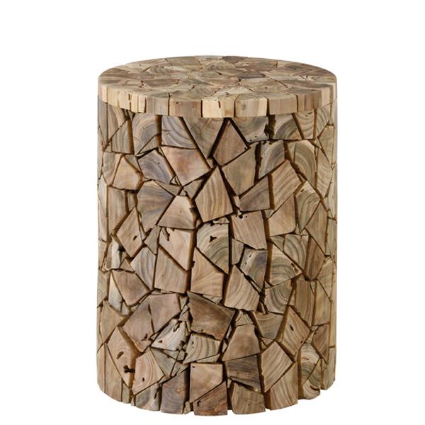 スツール ウッドスツール チーク材 ランダム ( 送料無料 椅子 チェア スツール(背もたれなし) イス 木製 木製スツール いす 腰かけ チェアー )【3980円以上送料無料】