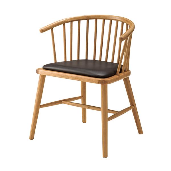ダイニングチェア 椅子 天然木 ソフトレザー 座面高47cm ( 送料無料 イス いす チェア チェアー 完成品 ダイニングチェアー 食卓椅子 リビングチェア )【4500円以上送料無料】