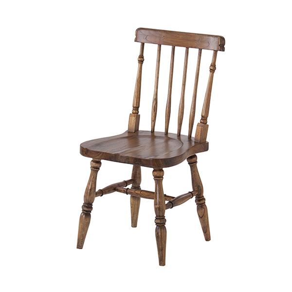ダイニングチェア 椅子 天然木 ティンバー 座面高44cm ( 送料無料 イス いす チェア チェアー 完成品 ダイニングチェアー 食卓椅子 リビングチェア )【3980円以上送料無料】