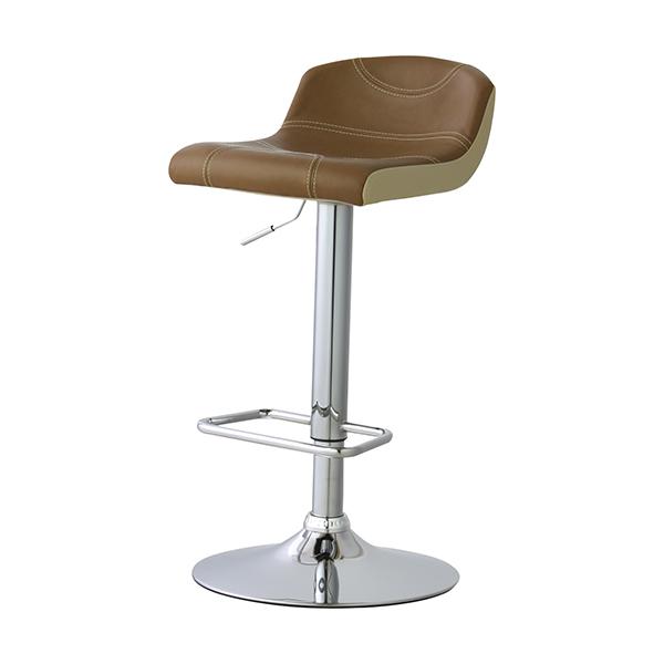 カウンターチェア 椅子 ローバック ソフトレザー 座面高62~82cm ( 送料無料 イス いす チェア チェアー 回転椅子 回転いす ハイチェア ハイチェアー カウンターチェア カウンターチェアー レザー 高さ調節 昇降式 )【4500円以上送料無料】
