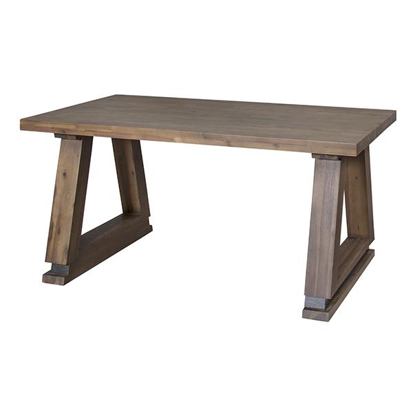 ダイニングテーブル 天然木 ソリッドデザイン 幅150cm ( 送料無料 無垢 テーブル 食卓 リビングテーブル 机 木製 4人掛け 4人用 四人用 ダイニング デスク 天然木製 )【4500円以上送料無料】