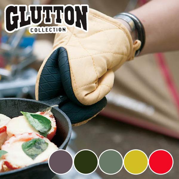 アツアツも何のそのキュートで強靭なオーブンミット ダルトン DULTON ミトン 鍋つかみ グラットン 特別セール品 GLUTTON 安い オーブンミット 鍋掴み キッチングローブ 厚手 左右兼用型 3980円以上送料無料 耐熱ミトン グリルミトン オーブングローブ キッチンミトン コットン 片手ミトン オーブンミトン