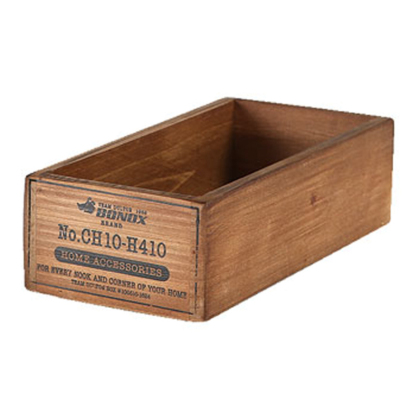 暮らしの中に色気が滲み出る 木製ボックス 小物収納 ダルトン DULTON WOODEN 配送員設置送料無料 BOX NATURAL ウッデン ボックス 木製 小物入れ 3980円以上送料無料 整理 ヴィンテージ感 小物 DIY風 収納ケース 整理整頓 道具入れ 収納ボックス ケース 仕切り無し 購買