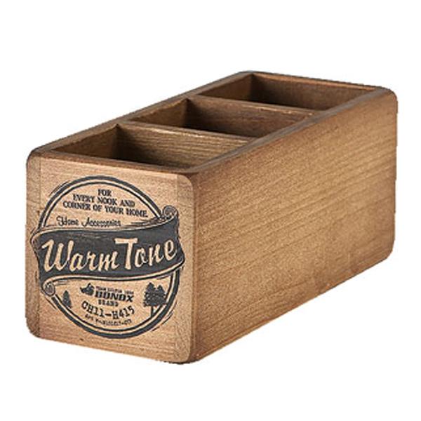 暮らしの中に色気が滲み出る 木製ボックス 小物収納 ダルトン DULTON 3 PARTITION WOODEN BOX ウッデン 本店 ボックス 木製 道具入れ 小物入れ 仕切あり 10%OFF 整理 整理整頓 ヴィンテージ感 小物 ケース 収納ケース DIY風 3980円以上送料無料 収納ボックス