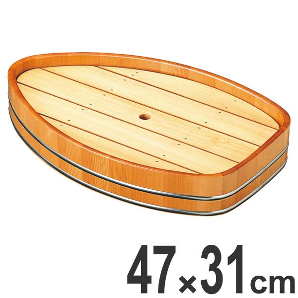 盛器 木製 尺6 舟形 舟形盛器 皿 食器 刺身 お造り 舟盛 食器 盛り皿 ( 送料無料 お皿 大漁盛り 器 うつわ 和食器 舟盛り 盛る 魚 懐石 懐石料理 飲食店 料亭 旅館 大皿 船形 船盛り )【4500円以上送料無料】