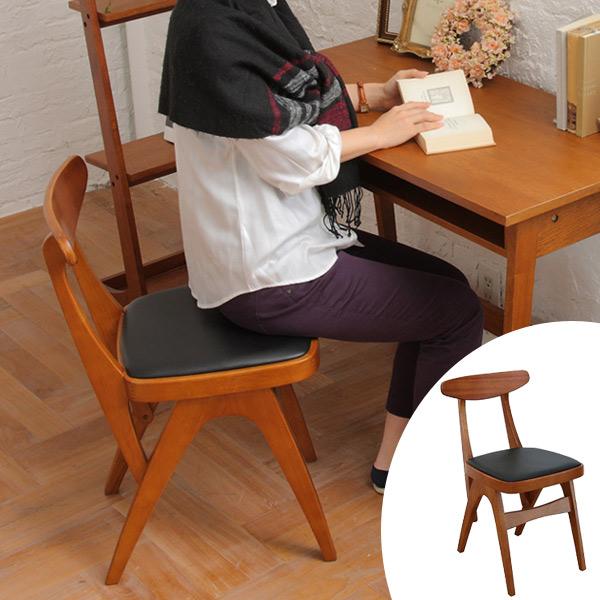 ダイニングチェアー オマージュ チェア ( 送料無料 椅子 いす イス 天然木 木製 食卓 キッチン ダイニング リビング デスクチェア 書斎 コンパクト 学習椅子 )【3980円以上送料無料】