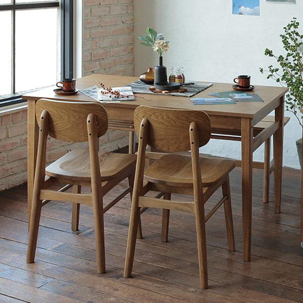 ダイニングテーブル 幅120cm Rasic テーブル 木製 天然木 ( 送料無料 木製テーブル 食卓テーブル 机 つくえ 食卓机 リビングテーブル 4人掛け おしゃれ ヴィンテージ オーク )【3980円以上送料無料】