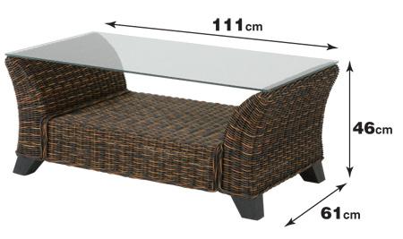 一番人気物 ?在庫限り・入荷なし?籐(ラタン) テーブル (T3000), ねっこの福や:c914608c --- sturmhofman.nl