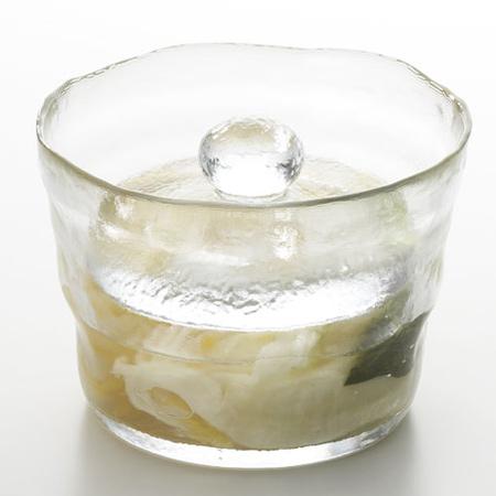 キントー KINTO ガラス製 浅漬鉢 CL( 漬物 浅漬け 容器 漬物樽 便利グッズ  ) 【4500円以上】