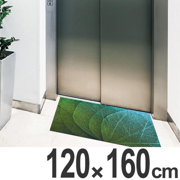 玄関マット Office & Decor Green Veins 120×160cm ( 送料無料 業務用 屋内 建物内 オフィス 事務所 来客用 デザイン オフィス&デコ おしゃれ )【4500円以上送料無料】