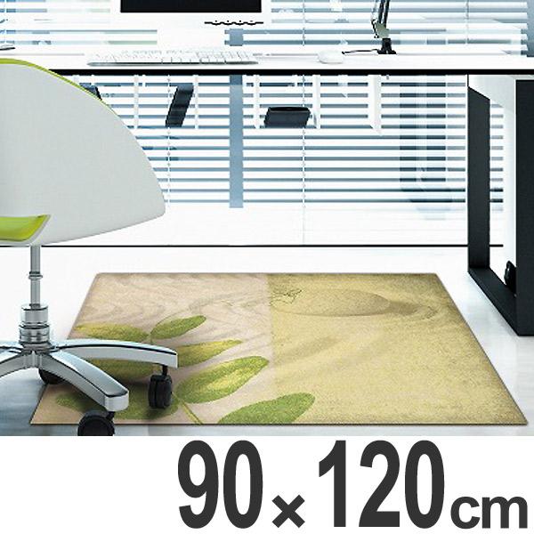 玄関マット Office & Decor Pea Leaf  90×120cm ( 送料無料 業務用 屋内 建物内 オフィス 事務所 来客用 デザイン オフィス&デコ おしゃれ )【4500円以上送料無料】