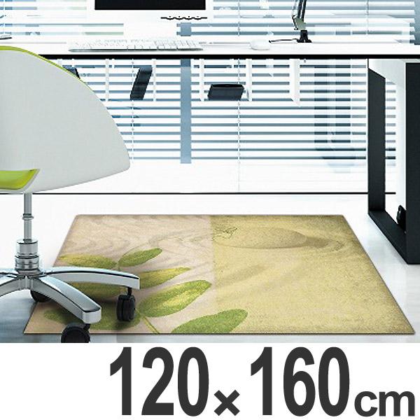 玄関マット Office & Decor Pea Leaf 120×160cm ( 送料無料 業務用 屋内 建物内 オフィス 事務所 来客用 デザイン オフィス&デコ おしゃれ )【4500円以上送料無料】