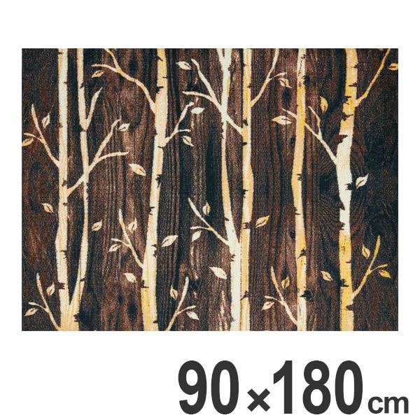 玄関マット Office & Decor Birch 90×180cm ( 送料無料 業務用 屋内 建物内 オフィス 事務所 来客用 デザイン オフィス&デコ おしゃれ )【4500円以上送料無料】