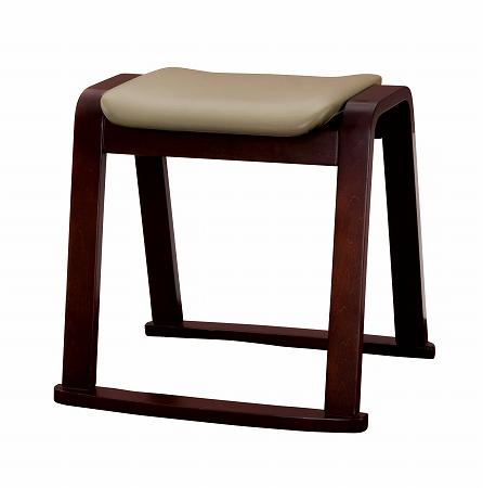 木製スツール ベージュ スタッキング( 座椅子 座イス ) 【3980円以上送料無料】