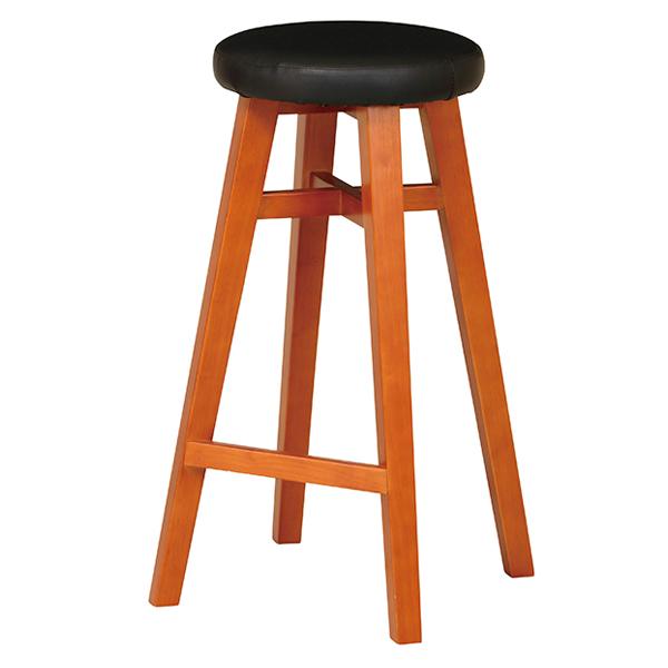 スツール 高さ65cm レグス 木製 合皮 チェア ( 送料無料 椅子 チェアー カウンターチェア イス 丸椅子 腰掛け いす 木製スツール キッチンチェア おしゃれ 座面高 65センチ )【3980円以上送料無料】
