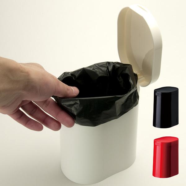 トイレ空間をスマートに演出する新たなプロダクトデザインで提案 トイレポット kaz clean サニタリーポット ( トイレコーナーポット ふた付き フタ付き 蓋付き おしゃれ トイレ用品 )【3980円以上送料無料】