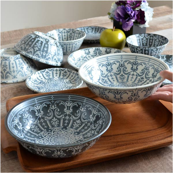 ... Bowl 20cm Western dishes Marrakech marrakech five set (tableware porcelain Western dishes device dish tureen ... & colorfulbox | Rakuten Global Market: Bowl 20cm Western dishes ...