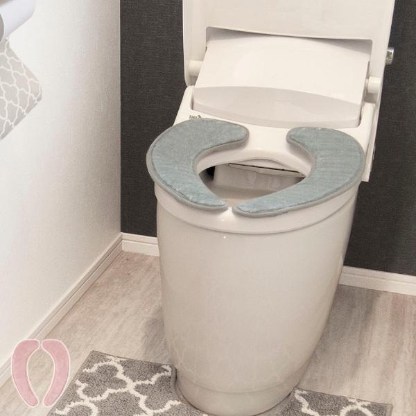 どんなトイレにも馴染むモロッカン柄の便座カバー お買得 便座カバー 洗浄暖房型 モロッカン 吸着便座カバー 吸着 共通 タイムセール ふわふわ ふんわり 便座 便座シート 置くだけ トイレ 単品 柔らかい 吸着シート ずれない クッション 3980円以上送料無料 節電 シンプル トイレタリー