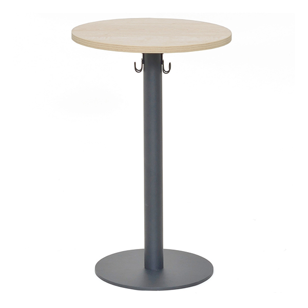サイドテーブル 円型 リフレッシュテーブル フック付 直径40cm ( 送料無料 テーブル 机 つくえ デスク ミニテーブル ラウンドテーブル ソファサイドテーブル ベッドサイドテーブル 丸 リビング 家具 )【4500円以上送料無料】