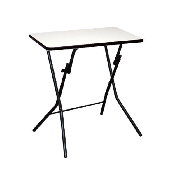 折りたたみテーブル 幅63.5cm デスク テーブル 机 つくえ 折り畳み 収納 メラミン樹脂 ( 送料無料 折りたたみ 折り畳みテーブル フォールディングテーブル 折り畳み机 折りたたみデスク ミニデスク 簡易テーブル 補助テーブル )【3980円以上送料無料】