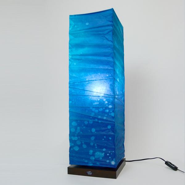 フロアライト 和紙 深海 1灯 ( 送料無料 フロアスタンド 照明 スタンドライト LED フロアスタンドライト おしゃれ 照明器具 スタンド照明 中間スイッチ 間接照明 国産 日本製 ) 【3980円以上送料無料】