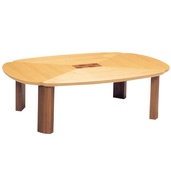座卓 折れ脚 ローテーブル 木製 グレコ  幅120cm ( 送料無料 テーブル 折りたたみ ちゃぶ台 ナラ ウォールナット 突板仕上げ 日本製 和室 和 和モダン ) 【4500円以上送料無料】