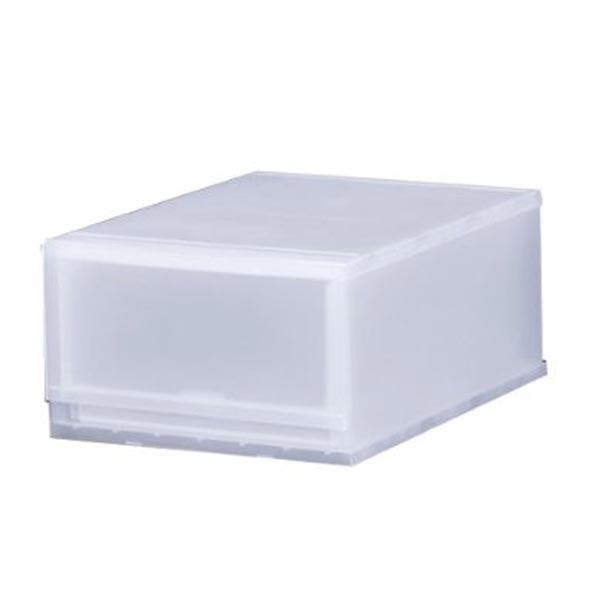 好きな高さ、幅にカスタマイズOK!積み重ね自由な収納ケース 収納ボックス 収納チェスト 引き出し プラスチック おもちゃ箱 収納ケース プラスト 半透明タイプ 1段 幅34×高さ20.5cm FR3401 ( 収納ボックス 引き出し プラスチック おもちゃ箱 小物入れ 積み重ね 衣裳ケース スタッキング 衣類収納  クローゼット ) 【3980円以上送料無料】