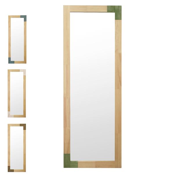 立て掛けミラー 天然木フレーム オイル仕上げ KACCO 幅60cm ( 送料無料 鏡 ミラー 全身 姿見 木製 全身鏡 木製鏡 姿見鏡 スタイルミラー 木製フレーム かがみ カガミ )【4500円以上送料無料】