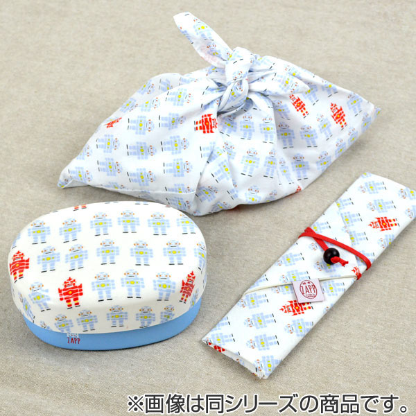 450 ml of lunch box two steps ZAPP oval gold coin compact lunch robots (the lunch box dishwasher-adaptive nest of boxes two steps lunch box range vs. Owa pattern Japanese towel pattern product made in lovely mature Japan)