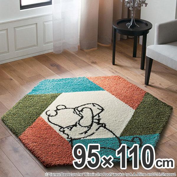 Stock Limit Arrivalless Rag Carpet Sumi Noe Winnie The Pooh Honeypot 95 110cm Heteromorphic Blue Center Living Disney Made In Tick