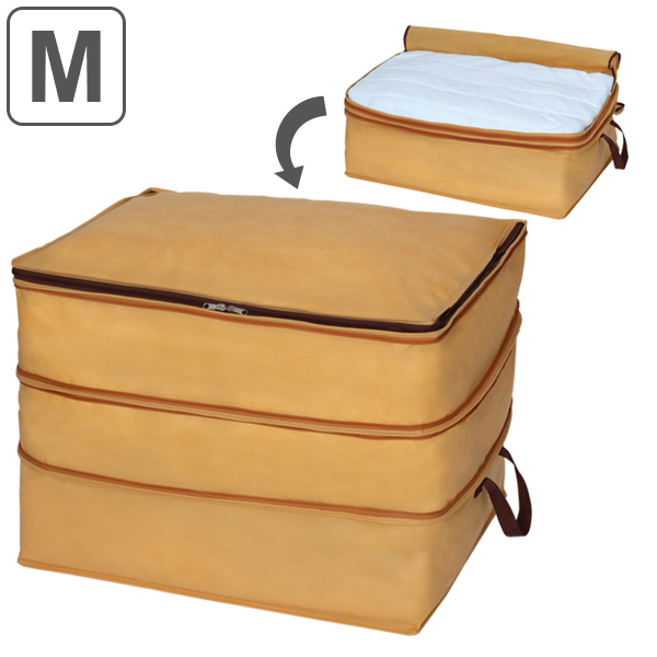 Delightful Clothing Storage Bag Jusfit Futon Storage Bag Height Adjustment Storage Bag  M (closet Futon Storing
