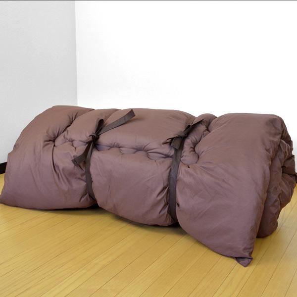 Futon Storage Bag Cylinder Type Mattress Case Our Original Product Five Pieces Set Closet Storing Madoka