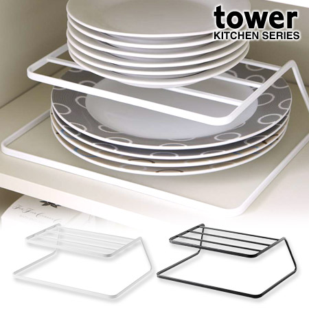 Tableware rack dish storage tower tower (I put up tableware storing rack dish rack tableware cupboard storing plate plate rack rearranging stands kitchen ...  sc 1 st  Rakuten & colorfulbox | Rakuten Global Market: Tableware rack dish storage ...