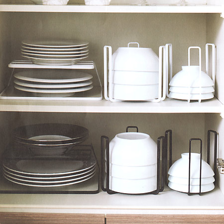 Tableware rack dish storage tower tower (I put up tableware storing rack dish rack tableware cupboard storing plate plate rack rearranging stands kitchen ... & colorfulbox | Rakuten Global Market: Tableware rack dish storage ...