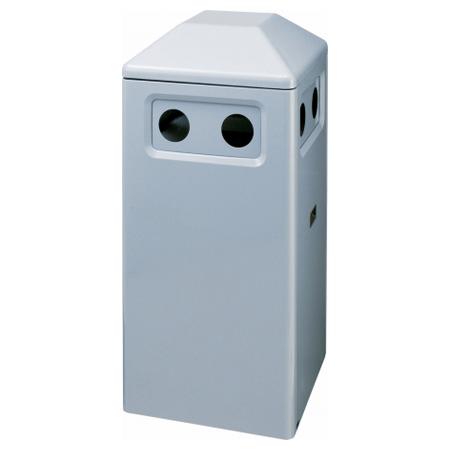 4方向からゴミが投入可能なダストボックス ゴミ箱 ハイスカイダスト分別 N-L2 送料無料 【4500円以上送料無料】