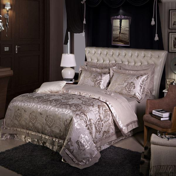 超贅沢のテンセル刺繍 豪華はもちろん ロマンティックなお部屋を演出する 60番手系高密度織りの超長綿 布団カバーセット 4点セット 毎日激安特売で 営業中です チープ クイーン 送料無料 シングル ダブル セミダブル