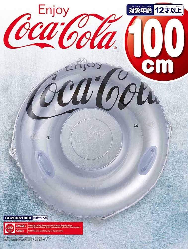 実物 ドウシシャ ファンチューブ 人気激安 コカ コーラ Coke 100cm Coca-Cola