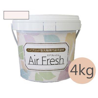 イサム AirFresh (エアフレッシュ) Shiro~白のやさしさ~ NO.013チェリーブロッサム [4kg] イサム塗料 ハイブリッド型光触媒内装用塗料 消臭効果 抗菌効果 抗カビ効果 ウイルス抑制効果