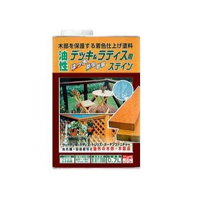 【送料無料】ニッペ 油性デッキ&ラティス [14L] 日本ペイント・ニッペホーム・ラティス・ウッドデッキ・木部・木製品・油性