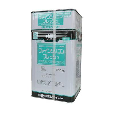 【送料無料】 ニッペ ファインシリコンフレッシュ クリヤー [15kgセット] 日本ペイント