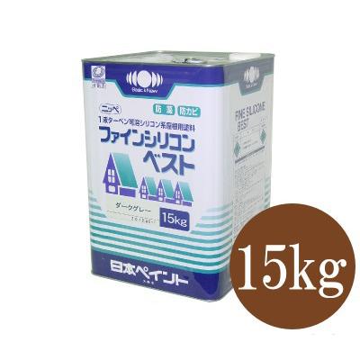 【送料無料】 ニッペ ファインシリコンベスト [15kg] 日本ペイント