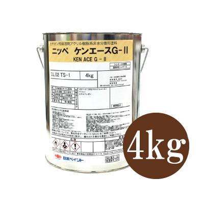 ニッペ ケンエースG-2 つや消し オーカー [4kg] 日本ペイント