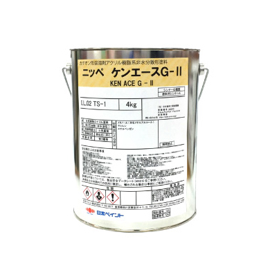 【弊社小分け商品】 ニッペ ケンエースG-2 ND-281 [4kg] 日本ペイント 中彩色 つや消しND色