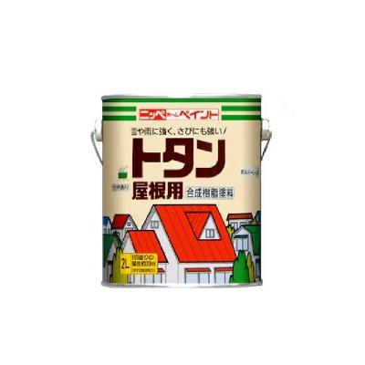 【送料無料】 ニッペ トタン屋根用 [14kg] 日本ペイント・ニッペホーム・屋根・ひさし・鉄部・カラートタン・油性