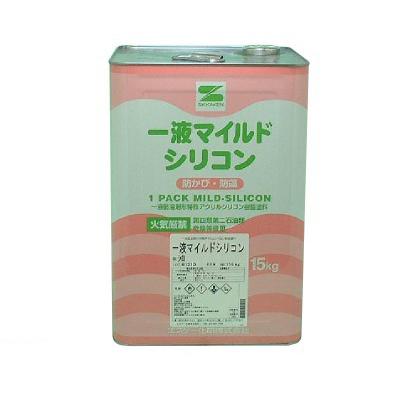 【送料無料】 一液マイルドシリコン 白色 [15kg] エスケー化研・SK化研・セラミックシリコン樹脂・外壁・内壁・コンクリート・ALC・サイディング