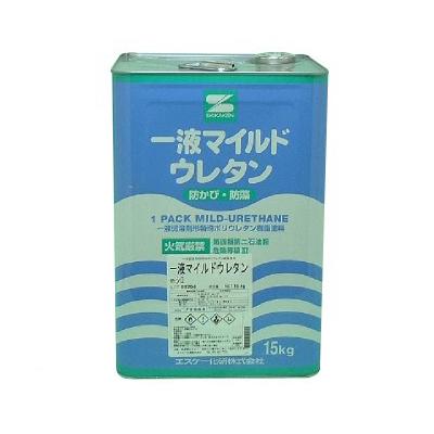【送料無料】 一液マイルドウレタン 白色 [15kg] エスケー化研・SK化研・セラミックシリコン樹脂・外壁・内壁・コンクリート・ALC・サイディング