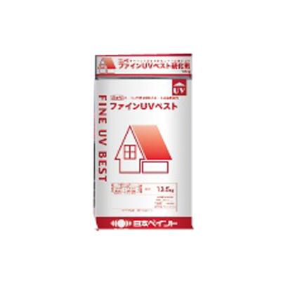 【送料無料】 ニッペ ファインUVベスト ホワイト [15kgセット] 【在庫限り】 日本ペイント