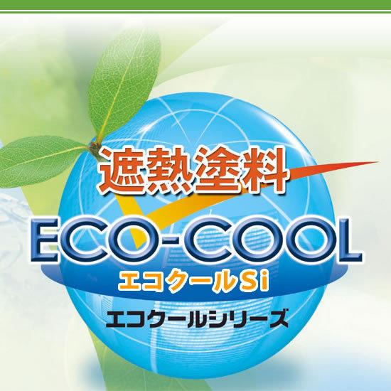 【送料無料】 弱溶剤形シリコン樹脂系遮熱塗料 エコクールマイルドSi 屋根用カラー [15kg] 大日本塗料